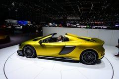 McLaren 675LT Spider Stock Foto