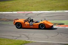 1966 McLaren M1B στο κύκλωμα Monza Στοκ εικόνα με δικαίωμα ελεύθερης χρήσης