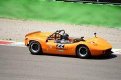 1966 McLaren M1B στο κύκλωμα Monza Στοκ φωτογραφίες με δικαίωμα ελεύθερης χρήσης
