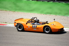 1966 McLaren M1B bij Monza-Kring Royalty-vrije Stock Foto's
