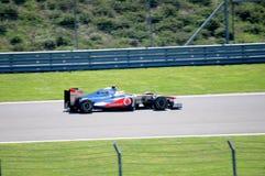 McLaren Mercedes Royalty-vrije Stock Foto's