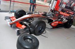 McLaren Mercedes Car. Race at Formula 1 GP, Istanbul, Turkey. Team Vodafone McLaren Mercedes stock image