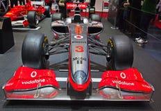 McLaren-Mercedes F1 2011 Lizenzfreie Stockfotos