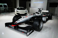McLaren Mercedes Formula 1 racing car Royalty Free Stock Photography