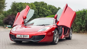 MCLAREN MP4 12C royalty free stock photos