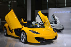 McLaren MP4-12C Spider sportscar Royalty Free Stock Images
