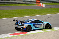 McLaren MP4 GT3 Italiaans GT 2015 in Monza Stock Foto
