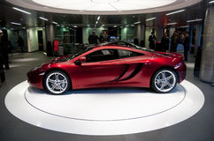 McLaren MP4-12C Stock Photo