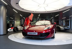 McLaren MP4-12C Photographie stock libre de droits