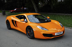 A McLaren MP4-12C Stock Images