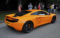 A McLaren MP4-12C Royalty Free Stock Photography