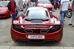 A McLaren MP4-12C Stock Image