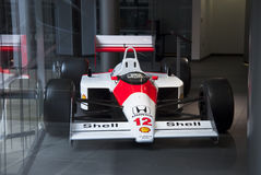 McLaren MP4/4 du séné Photo stock