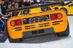 McLaren P1 Hybrid Car Stock Image