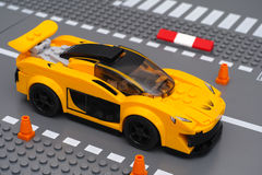 McLaren P1 by LEGO Speed Champions Stock Photo