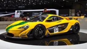 McLaren P1 sportów GTR samochód Obraz Royalty Free