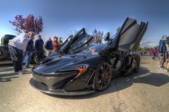 Mclaren p1 Super Car Stock Image