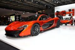 McLaren P1 fotografia de stock