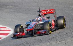 McLaren racing Royalty Free Stock Photo