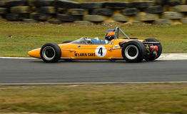 McLaren racing car at speed Stock Photos