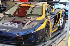 McLaren-Rennwagen Lizenzfreies Stockbild