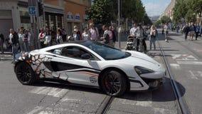 McLaren 570S сток-видео