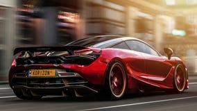 McLaren 720s photo stock