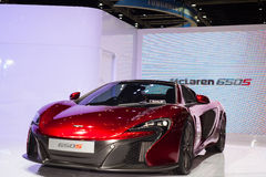 The Mclaren 650S Royalty Free Stock Images