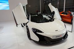 Mclaren 650S on 2014 CDMS Royalty Free Stock Photography