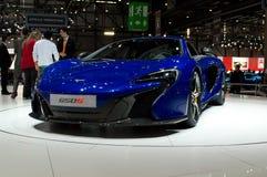 McLaren 650S Genève 2014 Arkivbilder