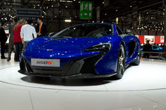 McLaren 650S Geneva 2014 Stock Images