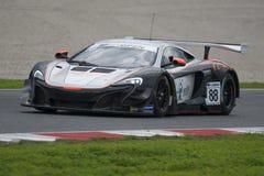 McLaren 650 S GT3.  International GT Open Royalty Free Stock Images