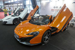 Mclaren 650S Royalty Free Stock Photography