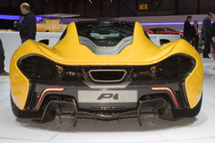 McLaren P1 - Geneva Motor Show 2013 Royalty Free Stock Photography
