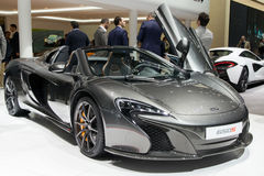 McLaren 650S Spider car Royalty Free Stock Photos