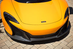 Mclaren 650S Spider Royalty Free Stock Photography