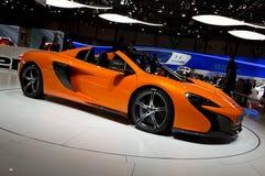 McLaren 650S Spider Geneva 2014 Royalty Free Stock Photo