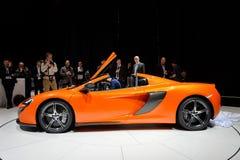 McLaren650s Spin Royalty-vrije Stock Afbeeldingen