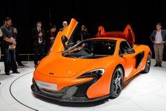 McLaren650s Spin Royalty-vrije Stock Fotografie
