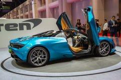 McLaren720s spin royalty-vrije stock foto