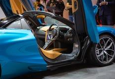 McLaren720s spin stock afbeeldingen
