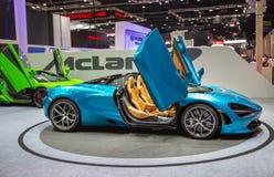 McLaren720s spin royalty-vrije stock foto's
