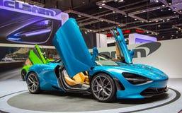 McLaren720s spin stock fotografie