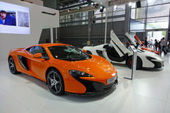 Mclaren  650s super car Royalty Free Stock Photo
