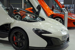 Mclaren  650s super car Stock Photo