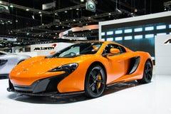 McLaren samochód przy Tajlandia zawody międzynarodowi silnika expo 2015 Obraz Stock