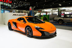 McLaren samochód przy Tajlandia zawody międzynarodowi silnika expo 2015 Obrazy Stock
