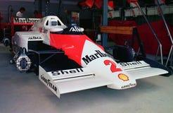 McLaren som är klar för krig! Arkivbild