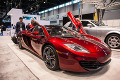 McLaren Spider at the Chicago Auto Show Royalty Free Stock Photo