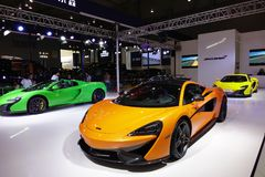 McLaren sport car Royalty Free Stock Photography